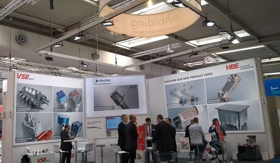VSE Volumentechnik presented its flow meters at the Hannover Messe 2019