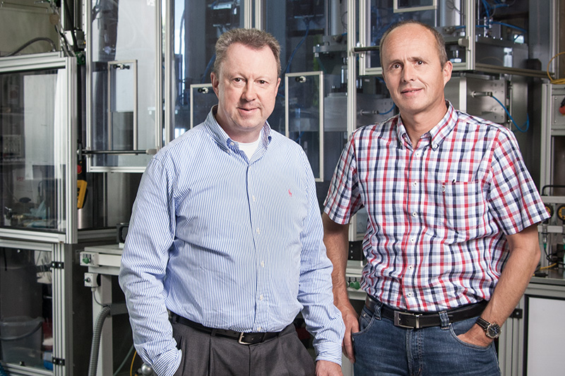 Managing Directors Jürgen Echterhage and Axel Vedder